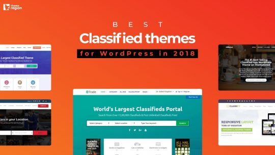 Best Classified themes for WordPress in 2018