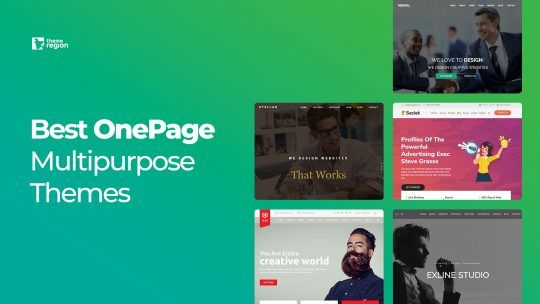 Best OnePage Multipurpose Themes for WordPress 2018