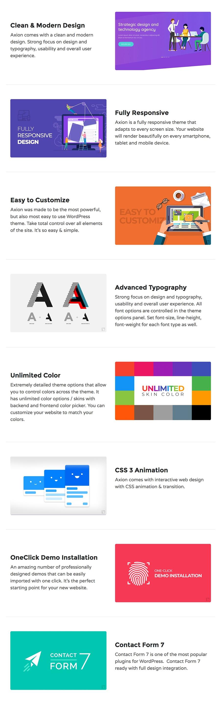 Introducing Axion: Digital Marketing Agency WordPress Theme